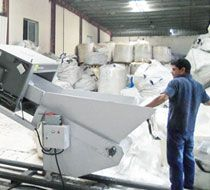 Film recycling machine installed in Dubai