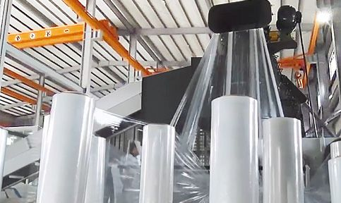Stretch film Recycling Machine