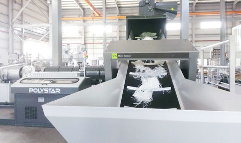 PP Raffia Recycling Machine