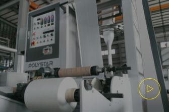 Compact Type Film Blowing Machine