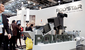 K 2013: Polystar's plastic recycling machine stands out