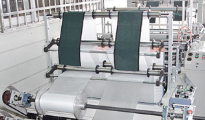 Dry cleaning bag production line in USA