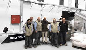 Turkey –12th POLYSTAR recycling machine installed