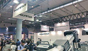 Spain -Polystar demonstrates live at Equiplast 2017
