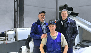 Russia - Long term partnership. Producer with 63 POLYSTAR machines