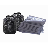 Folded Garbage Bags